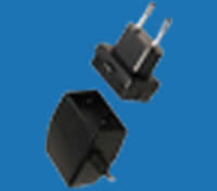 WALL-MOUNTED C-SERIES Universal Switching Adaptors with Interchangeable AC Plugs (up to 8W)