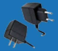 WALL-MOUNTED C-SERIES Universal Switching Adaptors with Fixed AC Plugs (up to 8W)