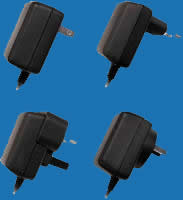 WALL-MOUNTED H-SERIES (OUTPUT CORD) Universal Switching Adaptors with Fixed AC Plugs (up to 8W)