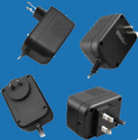 WALL-MOUNTED SWITCHING (W-SERIES) Universal Switching Adaptors with Fixed AC Plugs (up to 42W)