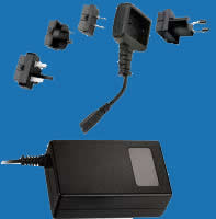 DESK-TOP M-SERIES Universal Switching Adaptors with Plug-Changeable Cords (up to 69W)